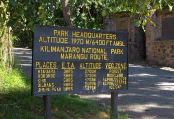 Marangu-Gate